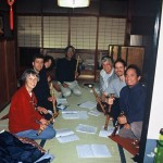 Lesson at  Kurahashi Yodo's home in Kyoto