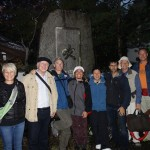 Group photo in front of Myoanji-Kyoto