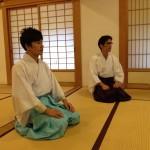 Shibata-san and Ochia-san of Tsubaki Jinja, Suzuka, Mie-ken