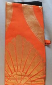 Authentic, high-quality silk Japanese obi cloth.