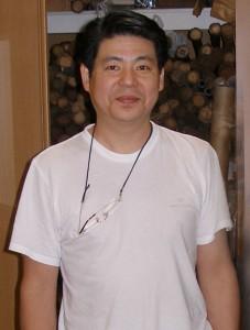 Yamaguchi Shugetsu at his home in Nara, Japan.