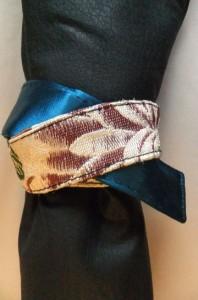 How to tie the poromeric bag obi.